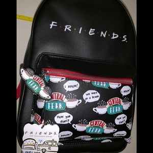 NWT Friends Central Perk Mini Backpack Primark